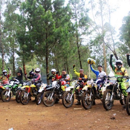 Wisata Motor Trail di Lembang Bandung