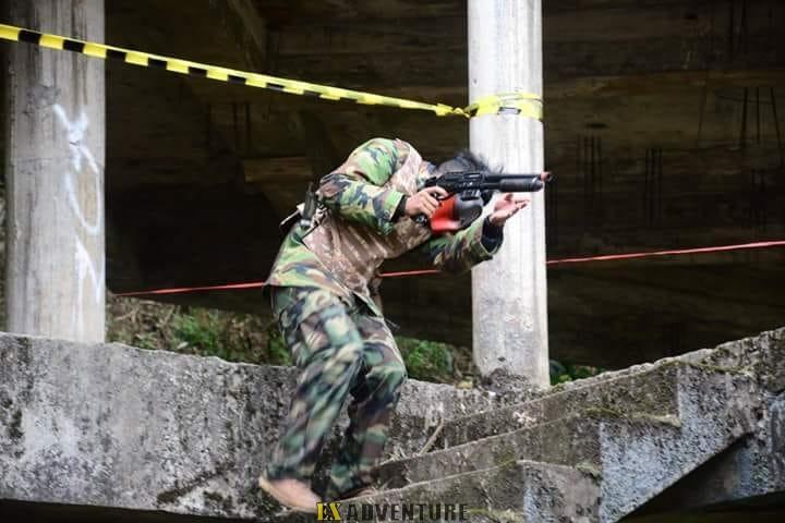 AIRSOFT GUN WAR GAMES LEMBANG BANDUNG-SIMULASI TEMPUR RASA NYATA