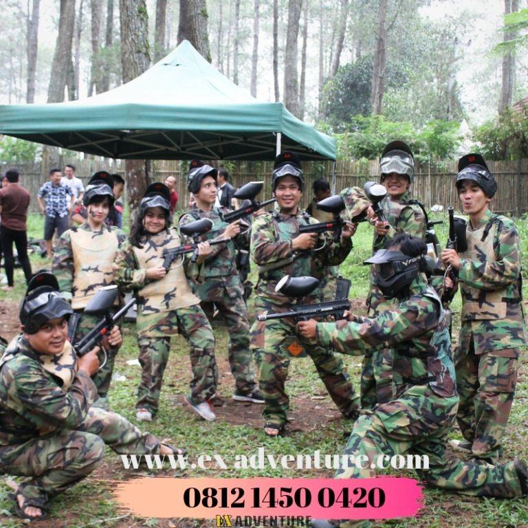 Lembang Paintball Kabupaten Bandung Barat, Jawa Barat Paintball Gun Ataupun Paintball Marker