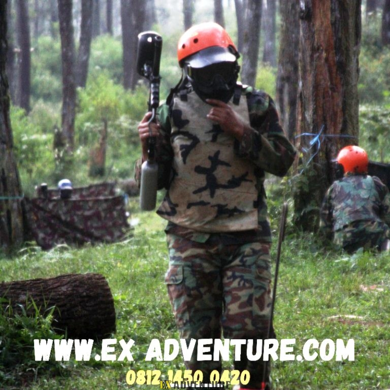 Paintball Di Cikole Lembang Bandung Paintball Gun Atau Paintball Marker