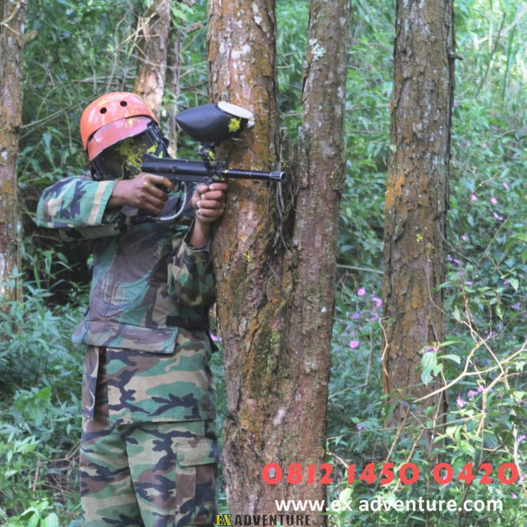 Paintball Cikole Lembang Bandung Paintball Gun Atau Paintball Marker