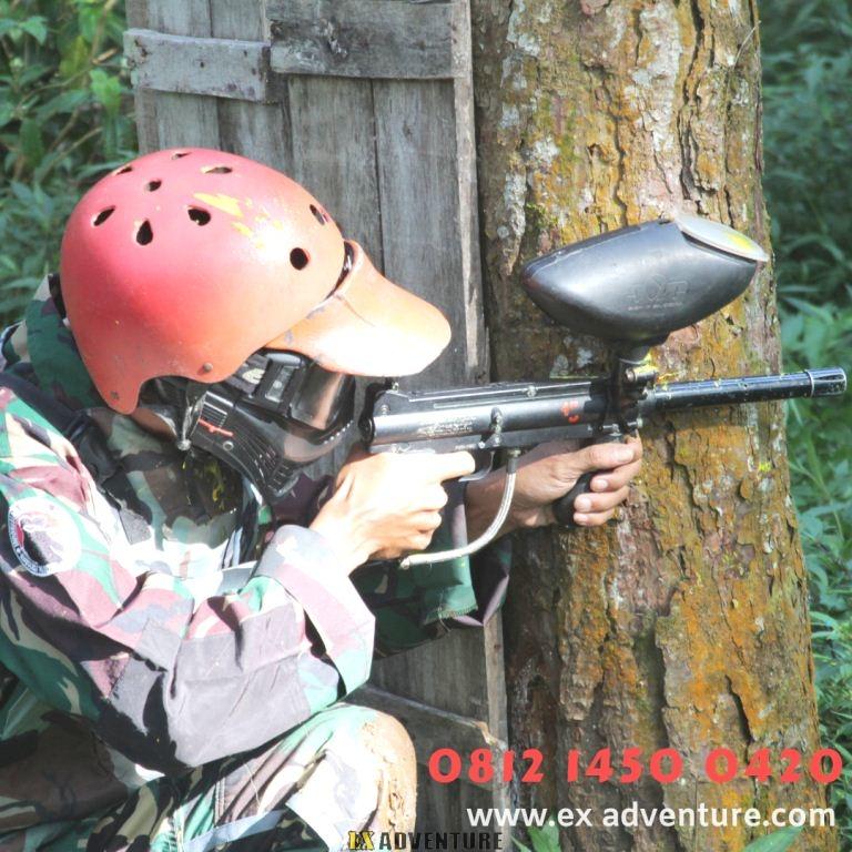 Tempat Paintball Di Cikole Bandung Yang Terkenal Paintball Marker Maupun Paintball Gun
