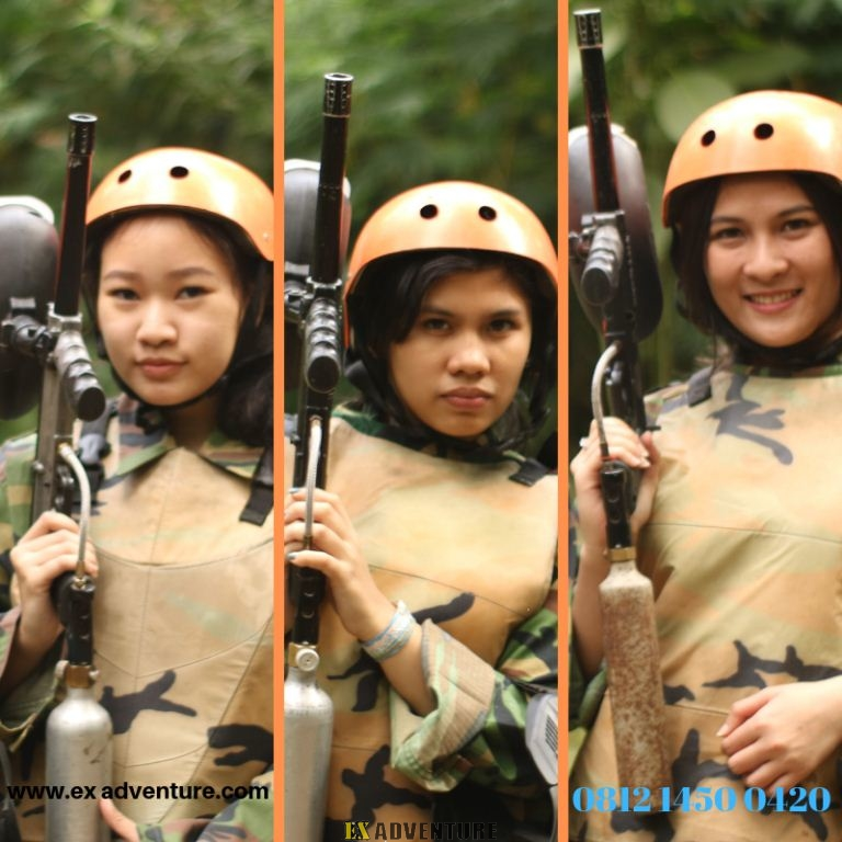 Paintball Di Cikole Lembang Bandung Paintball Marker Atau Paintball Gun